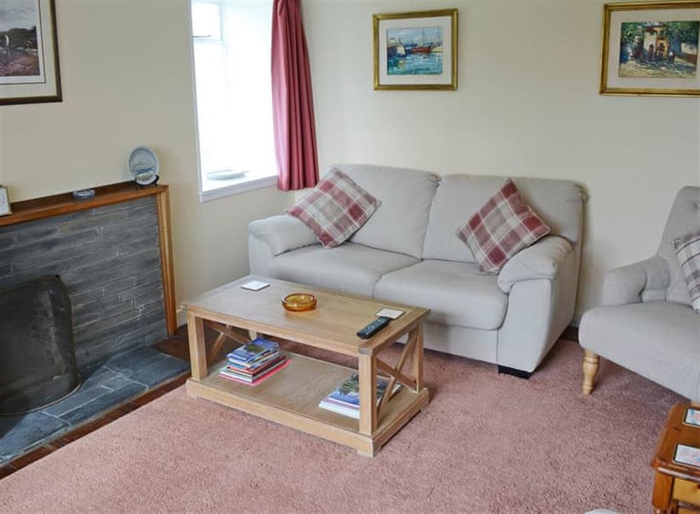 Charming living room at Inch Alla in Linside, near Lairg, Sutherland