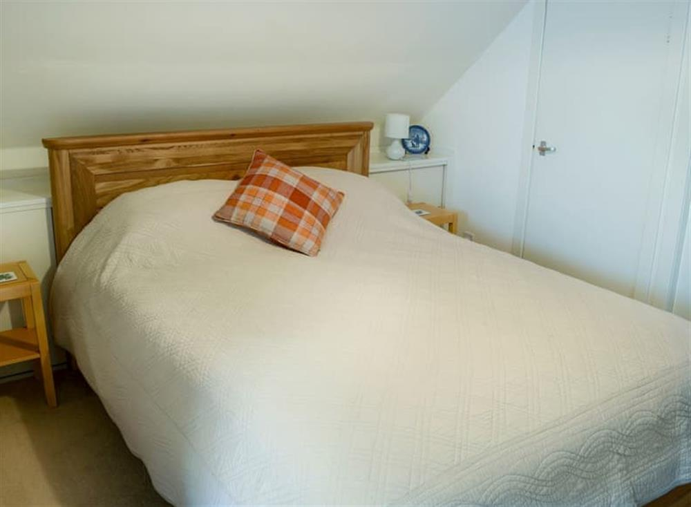 Comfortable double bedroom at Inch Alla in Linside, near Lairg, Sutherland
