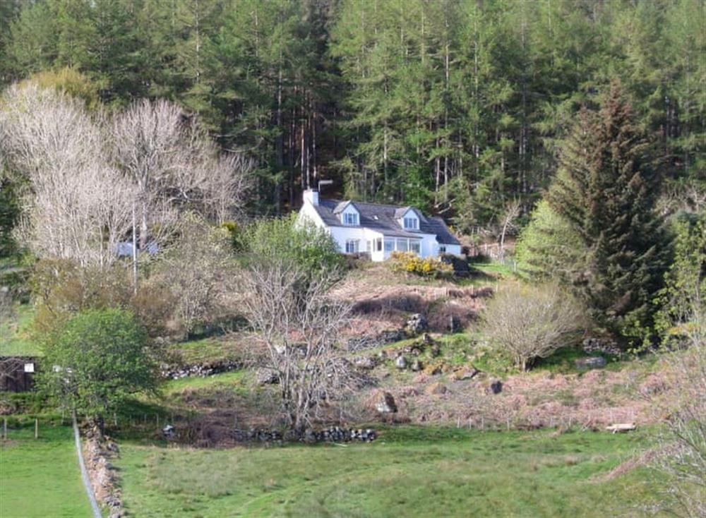 Wonderful rural property at Inch Alla in Linside, near Lairg, Sutherland