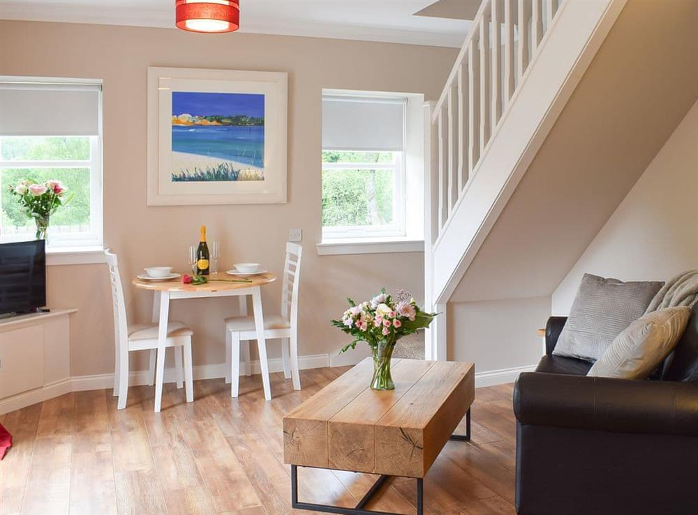 Open plan living space at Faodail,
