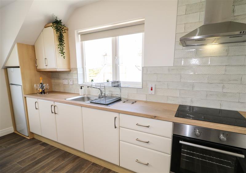 The kitchen at Inish Way Apartment 1, Carndonagh