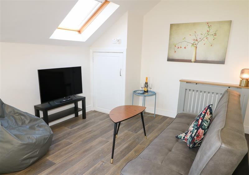 The living room at Inish Way Apartment 4, Carndonagh