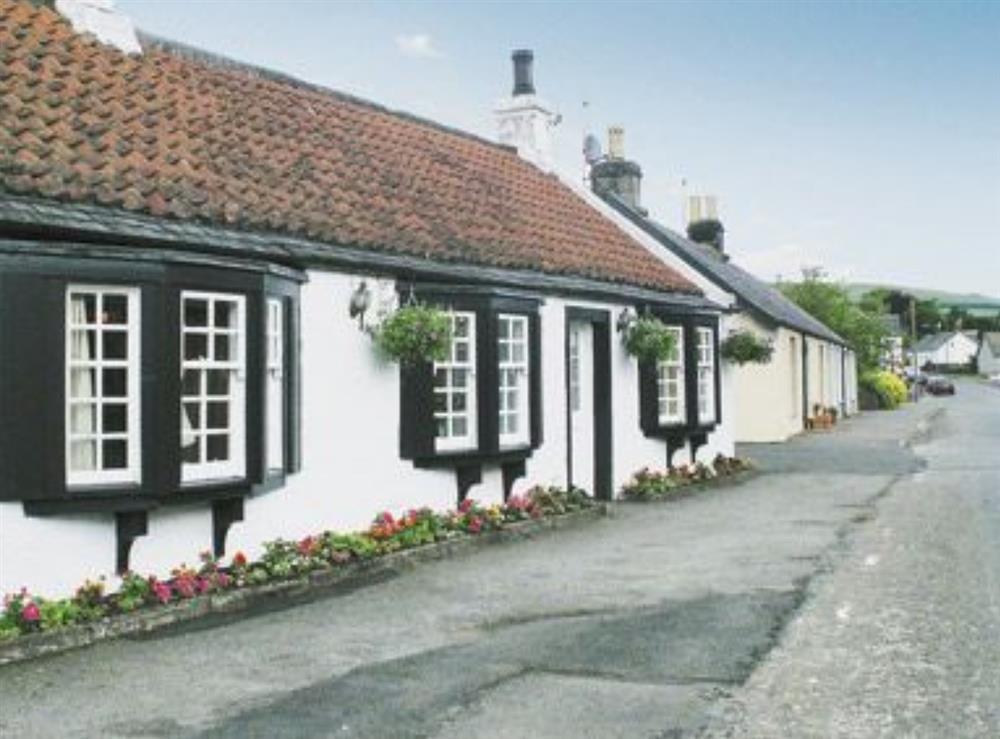 Exterior at Inn Cottage in Muckhart, near Gleneagles, Clackmannanshire