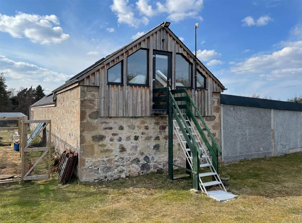 Exterior at Into the Wild in Meikleburn, Morayshire
