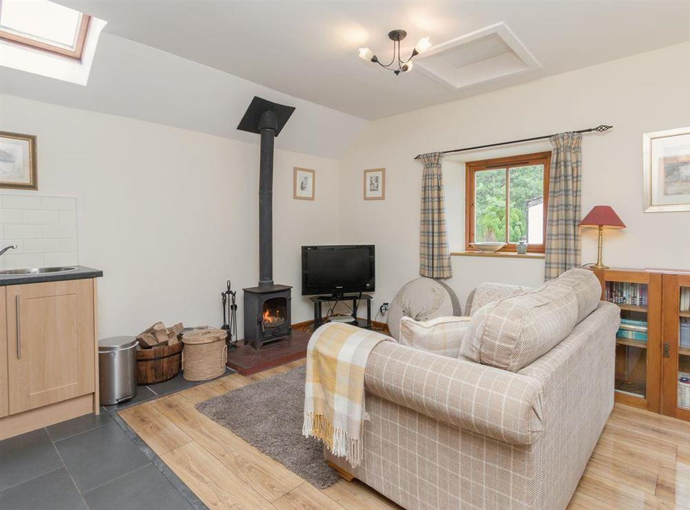 Delightful open plan living space at Bonnies Bothy,