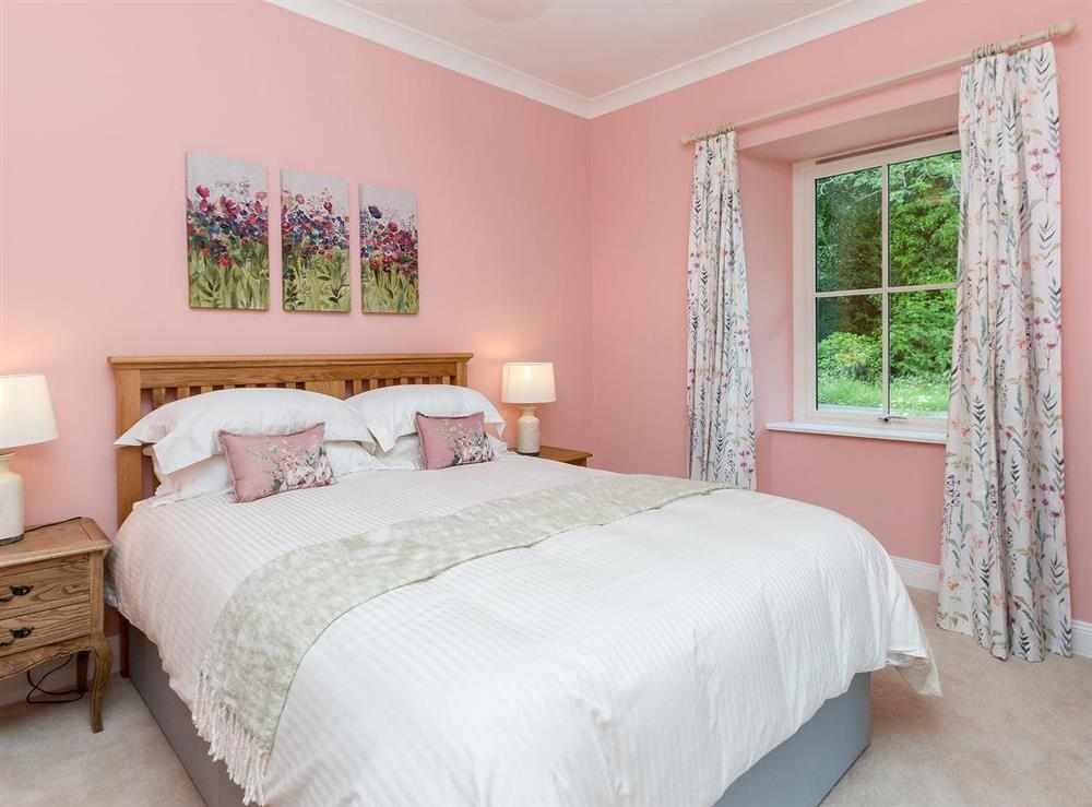 Comfortable double bedroom at Graces Cottage,