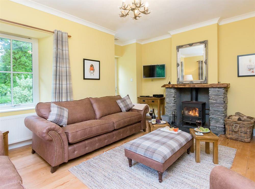 Homely living room at Graces Cottage,