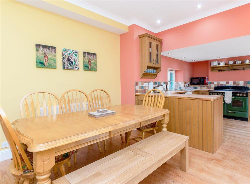 Ideal dining area at Graces Cottage,