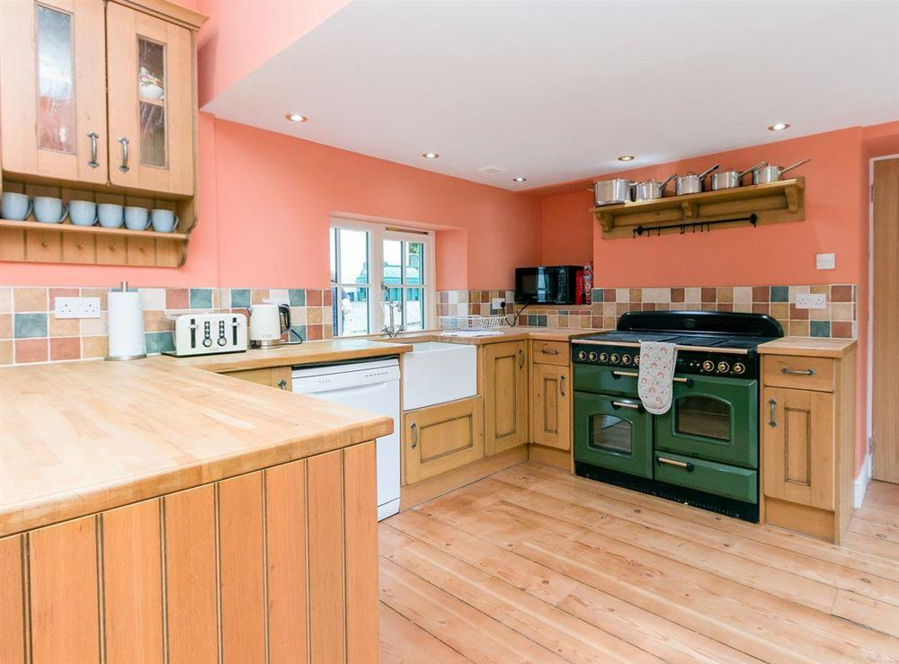 Large, well equipped kitchen at Graces Cottage,