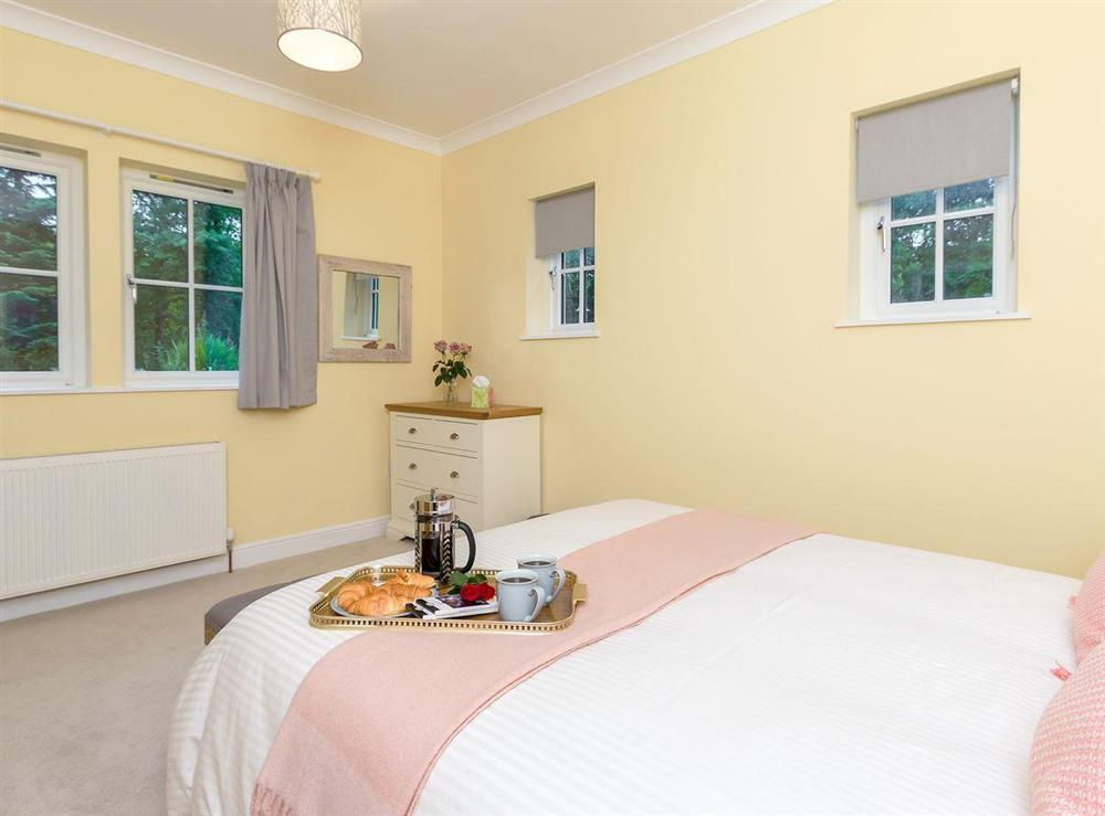 Spacious, comfortable double bedroom (photo 2) at Graces Cottage,