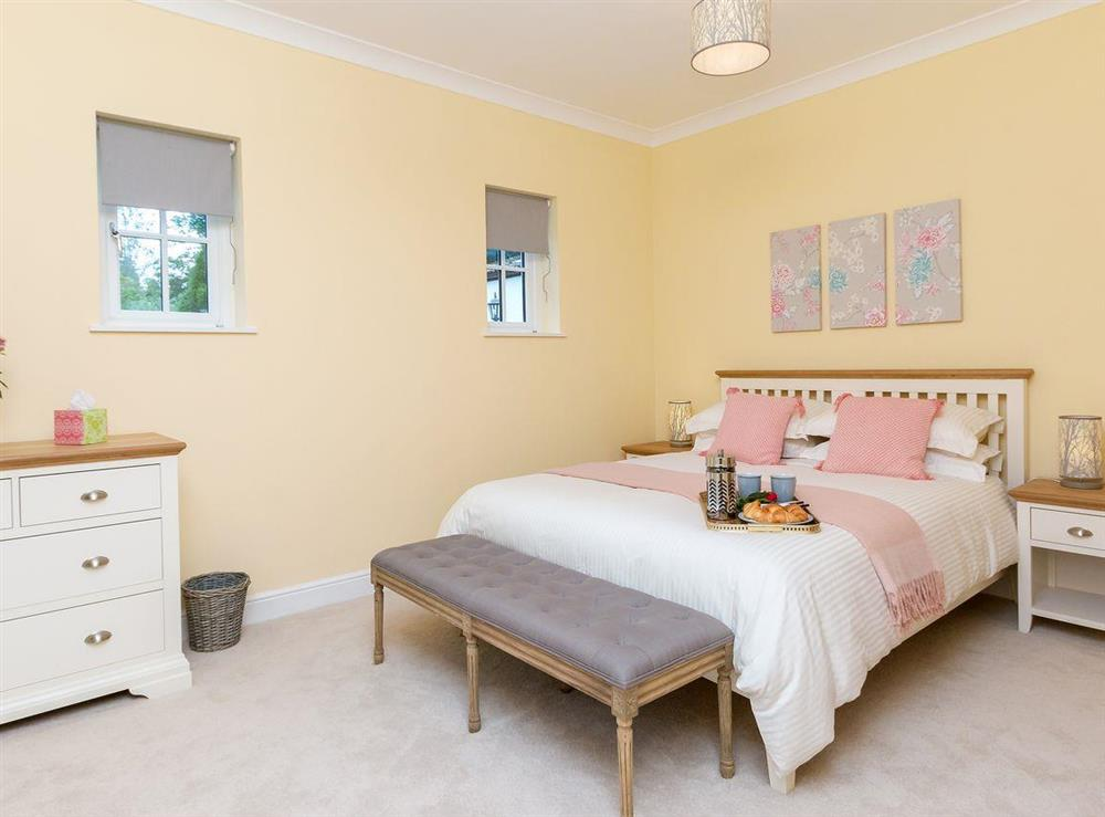 Spacious, comfortable double bedroom at Graces Cottage,
