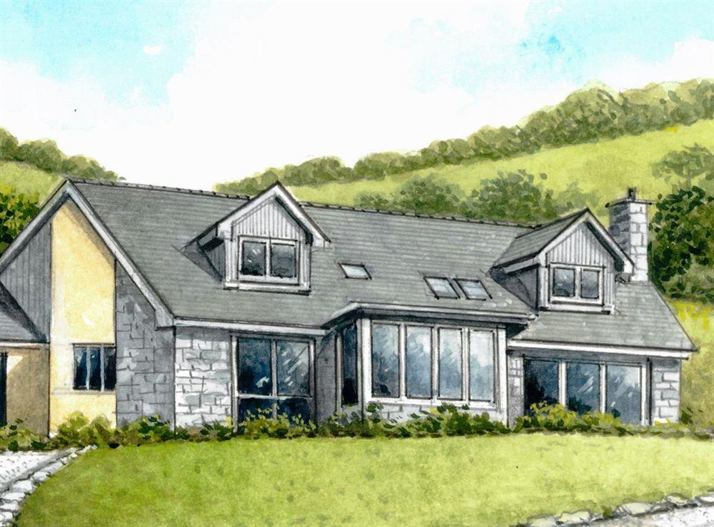 Artist impression at Inveruel in Colintraive, near Dunoon, Argyll