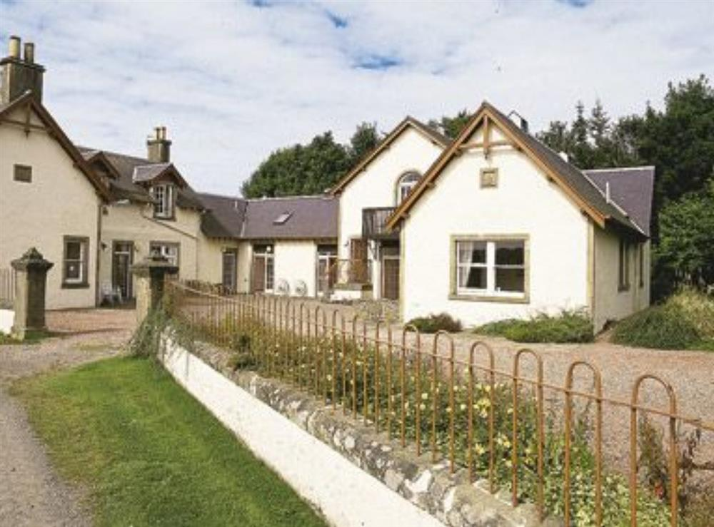 Exterior at Ivanhoe in Nr. Selkirk, Selkirkshire