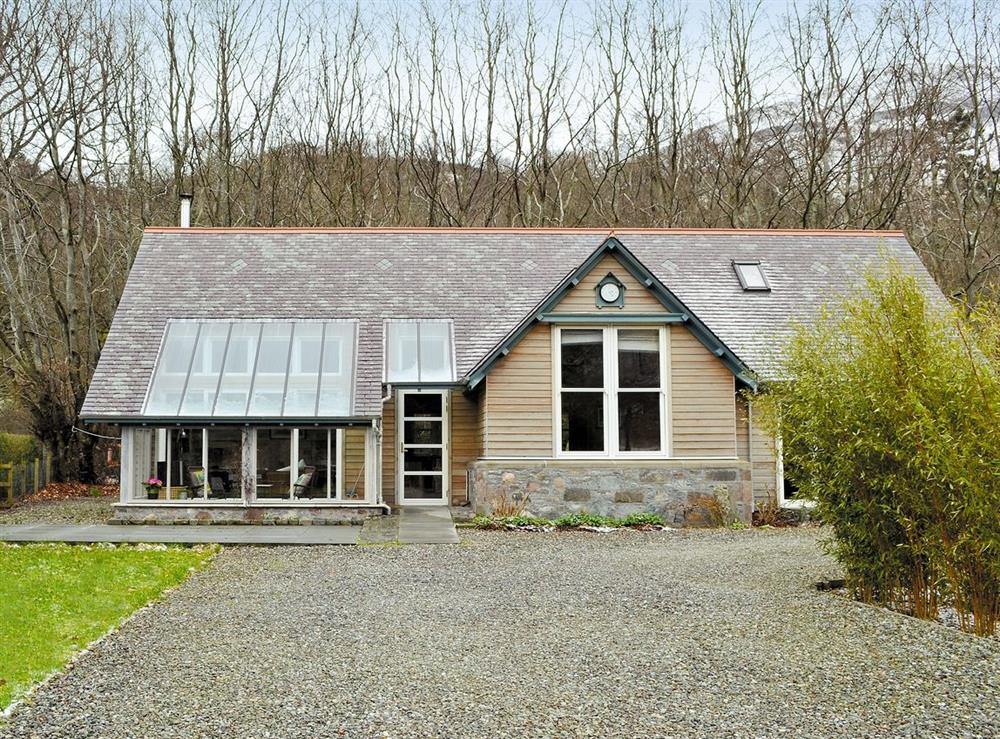 Exterior at Jackdaws in St Fillans, near Crieff, Perthshire