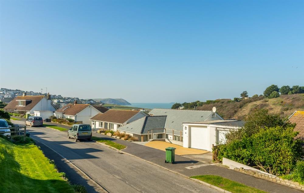 Located in a quiet cul de sac just above the seaside village of Polzeath