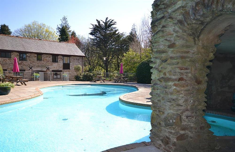 Another view of the outdoor pool area (photo 2) at Jays Cottage, Modbury
