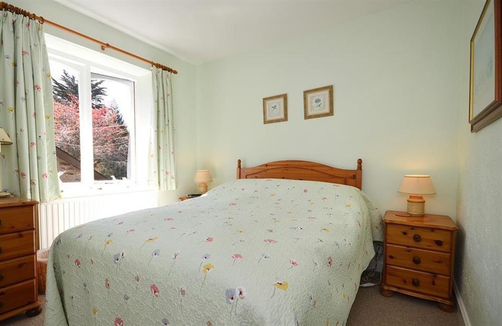 The double bedroom at Jays Cottage, Modbury
