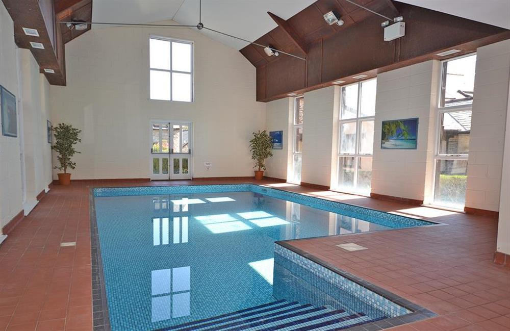 The indoor swimming pool at Jays Cottage, Modbury