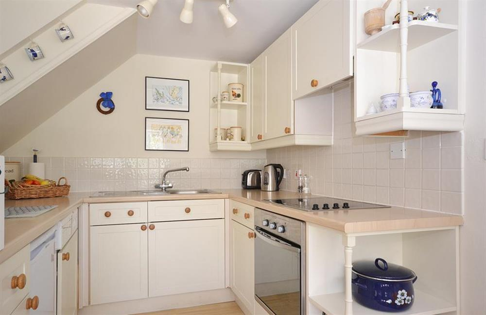 The well equipped kitchen at Jays Cottage, Modbury