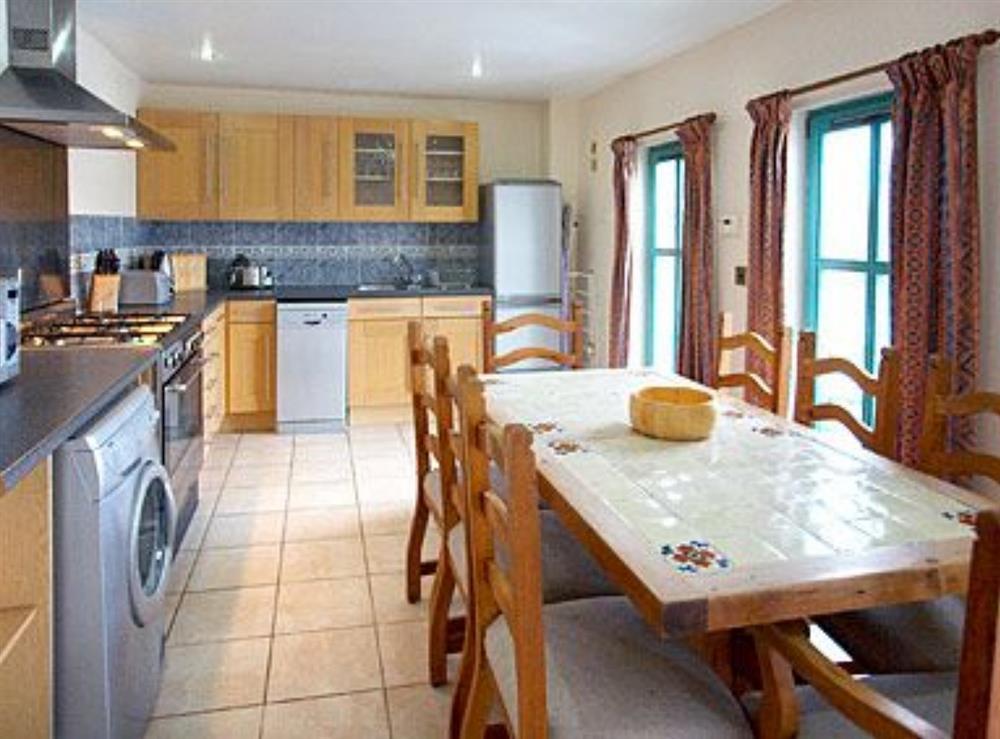 Kitchen at Jib Sail in Wroxham, Norfolk