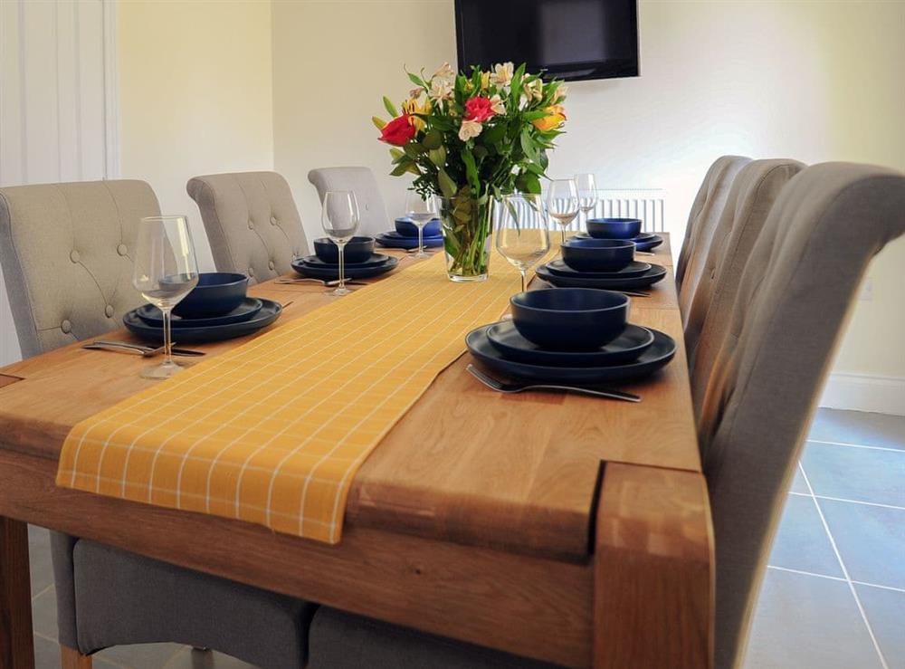 Dining Area at Julians Retreat in Wroxham, Norfolk