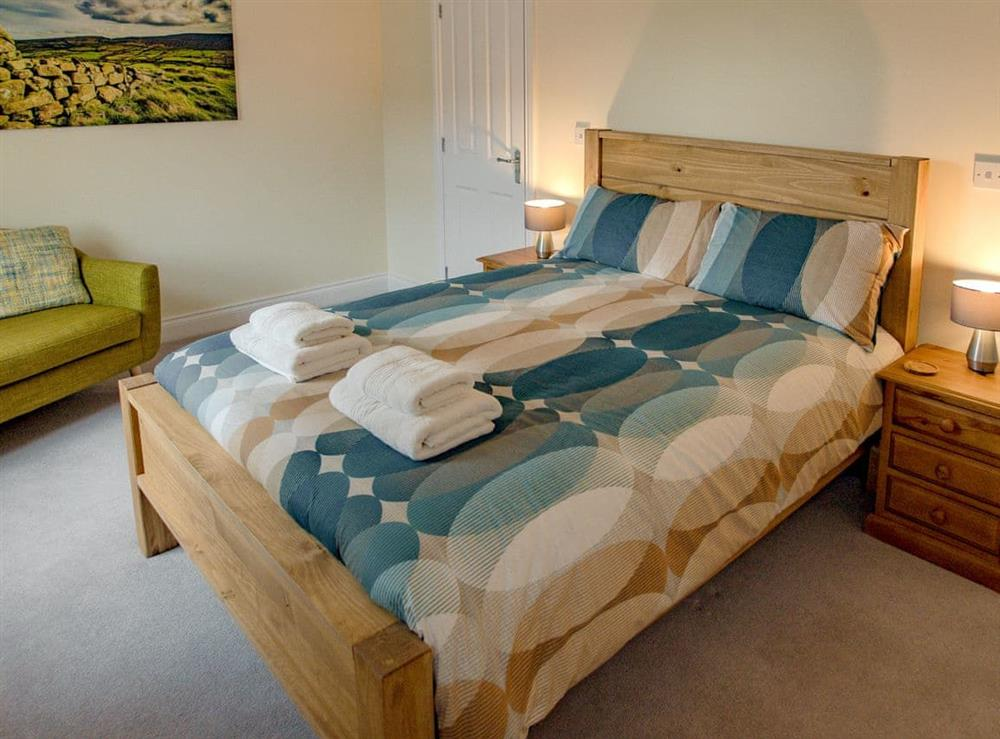 Double bedroom at Julians Retreat in Wroxham, Norfolk