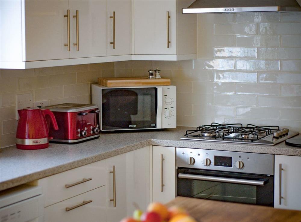 Kitchen at Julians Retreat in Wroxham, Norfolk