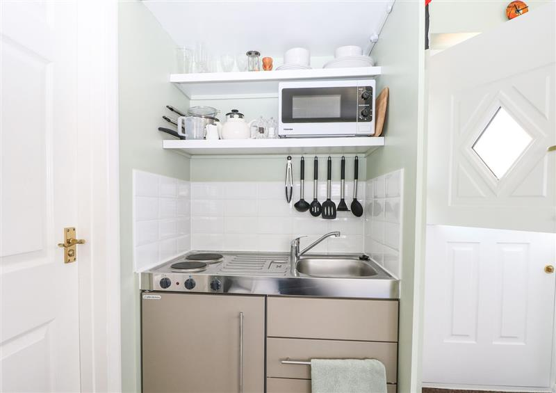 This is the kitchen at Karibu, High Salvington