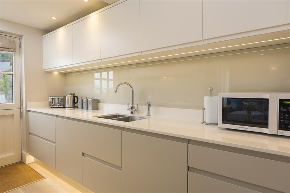 Modern, well equipped kitchen (photo 2) at Keepers Cottage 4 in Hillfield, Dartmouth