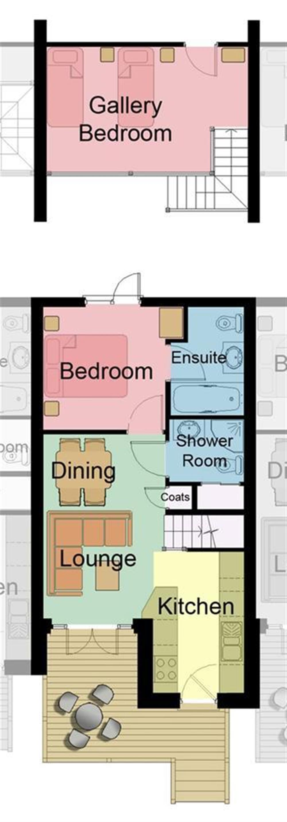 Floor Plans at Keepers Cottage 5 in Hillfield, Dartmouth