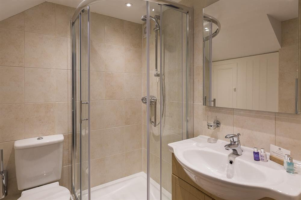 Ground floor shower room at Keepers Cottage 5 in Hillfield, Dartmouth