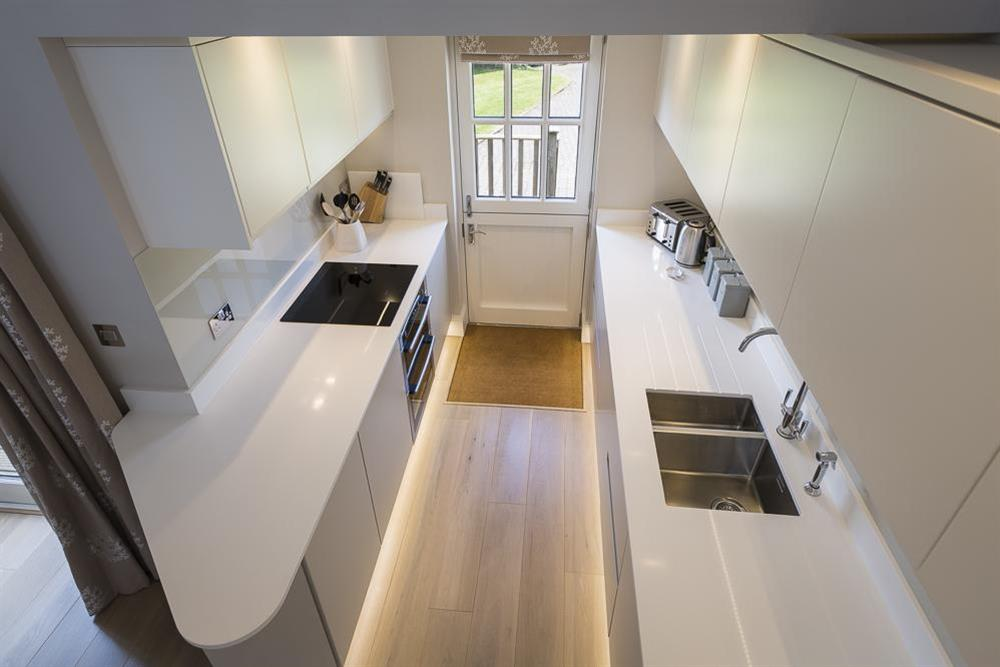 Modern, well equipped kitchen (photo 3) at Keepers Cottage 5 in Hillfield, Dartmouth