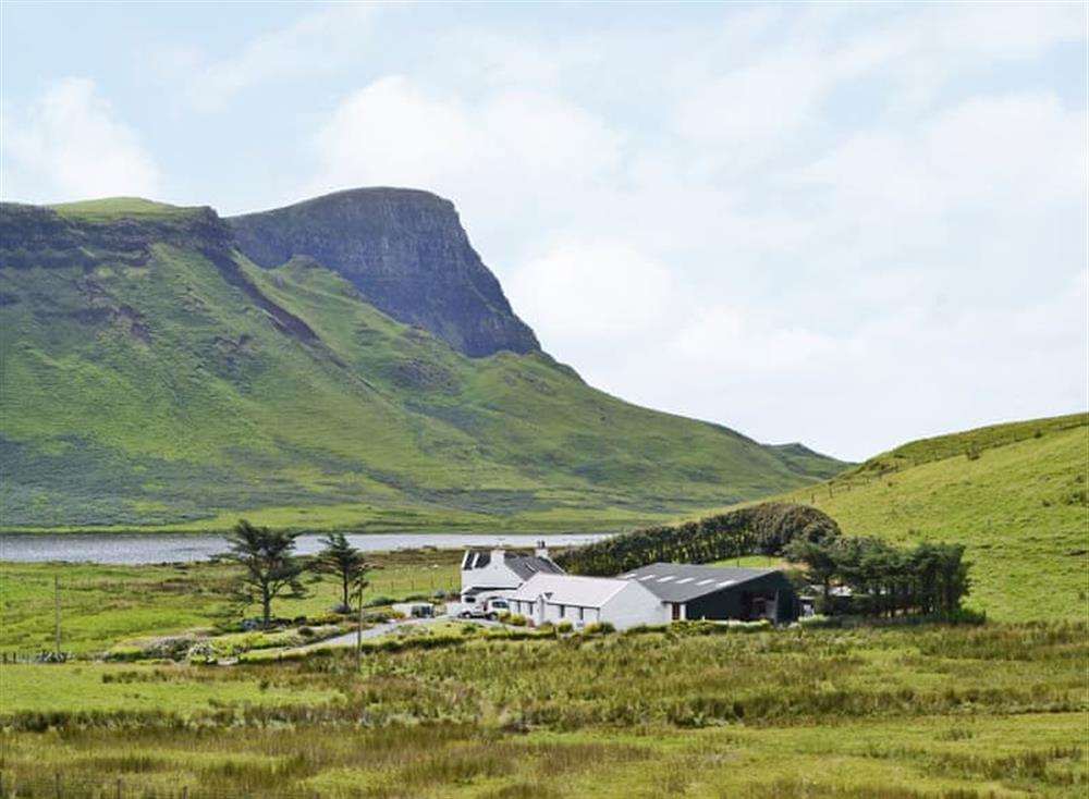 Attractive holiday home in a spectacular location at Kelpie Cottage in Glendale, near Dunvegan, Isle Of Skye