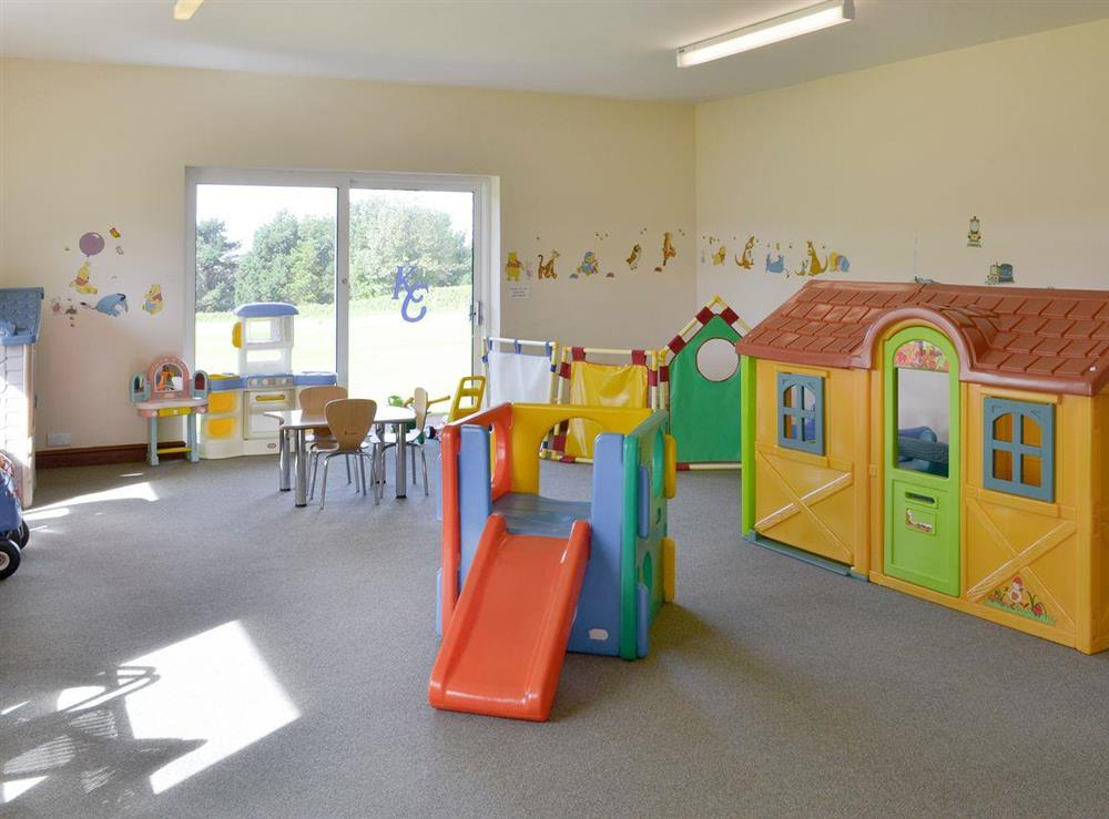 Indoor playroom for younger children