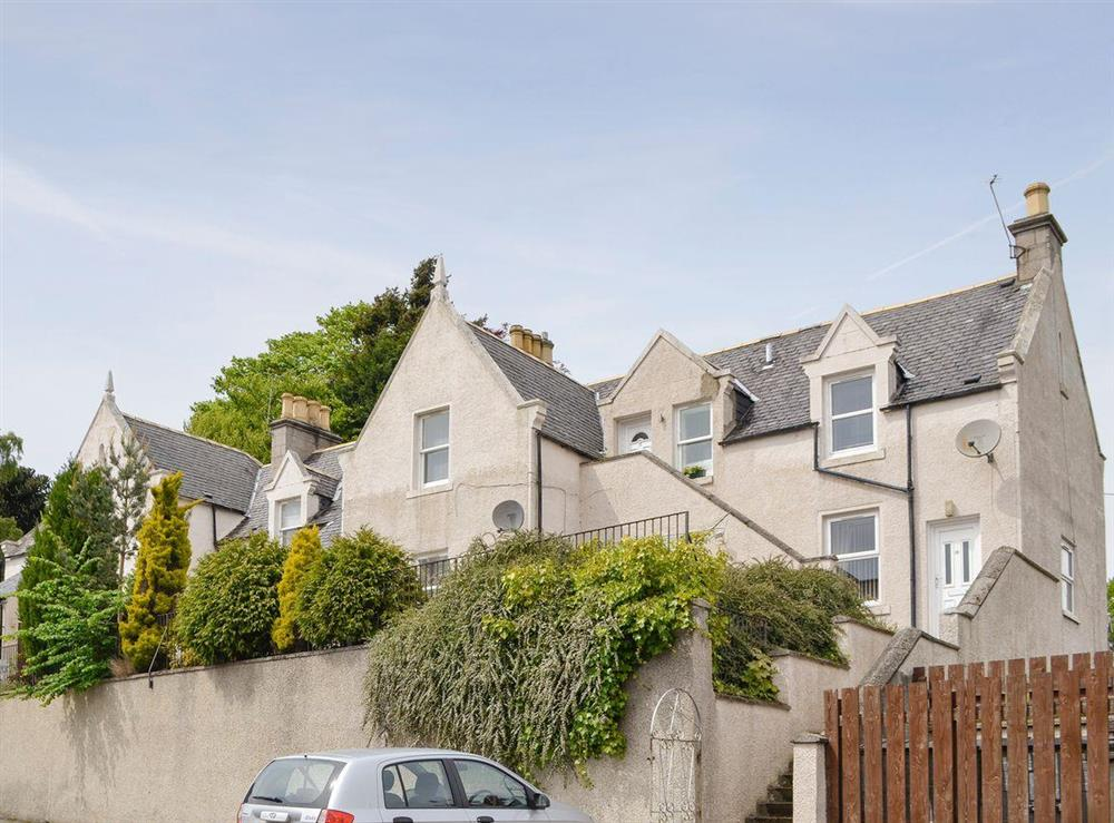 Stylish second floor apartment at Kerloch View in Banchory, Aberdeenshire