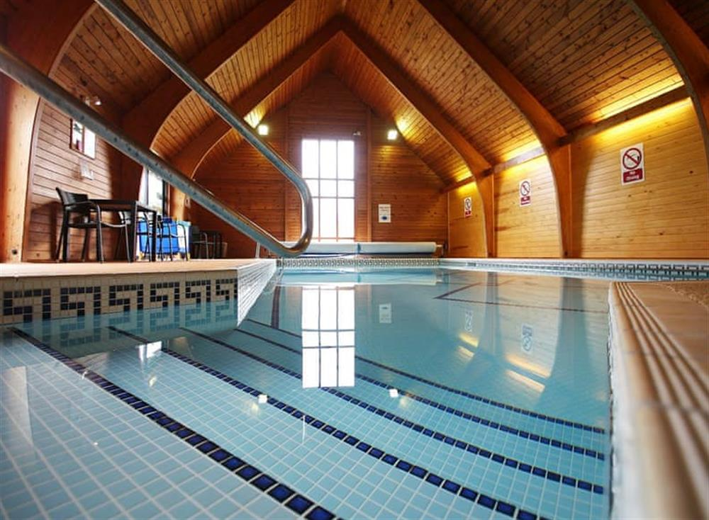 Swimming pool at Kersey Cottage in Sudbury, Suffolk