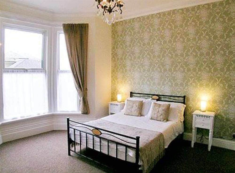 Double bedroom at Kew Lodge in Sandown, Isle Of Wight