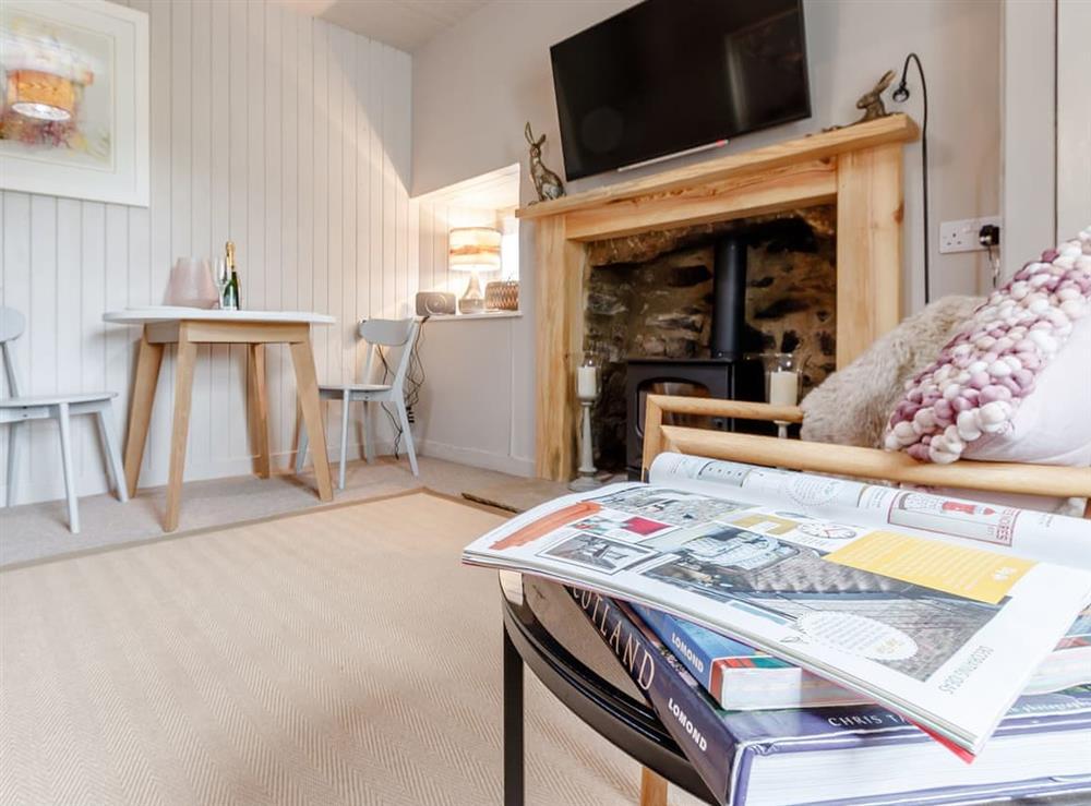 Living room at Kilblean Cottage in Kilblean, near Old Meldrum, Aberdeenshire