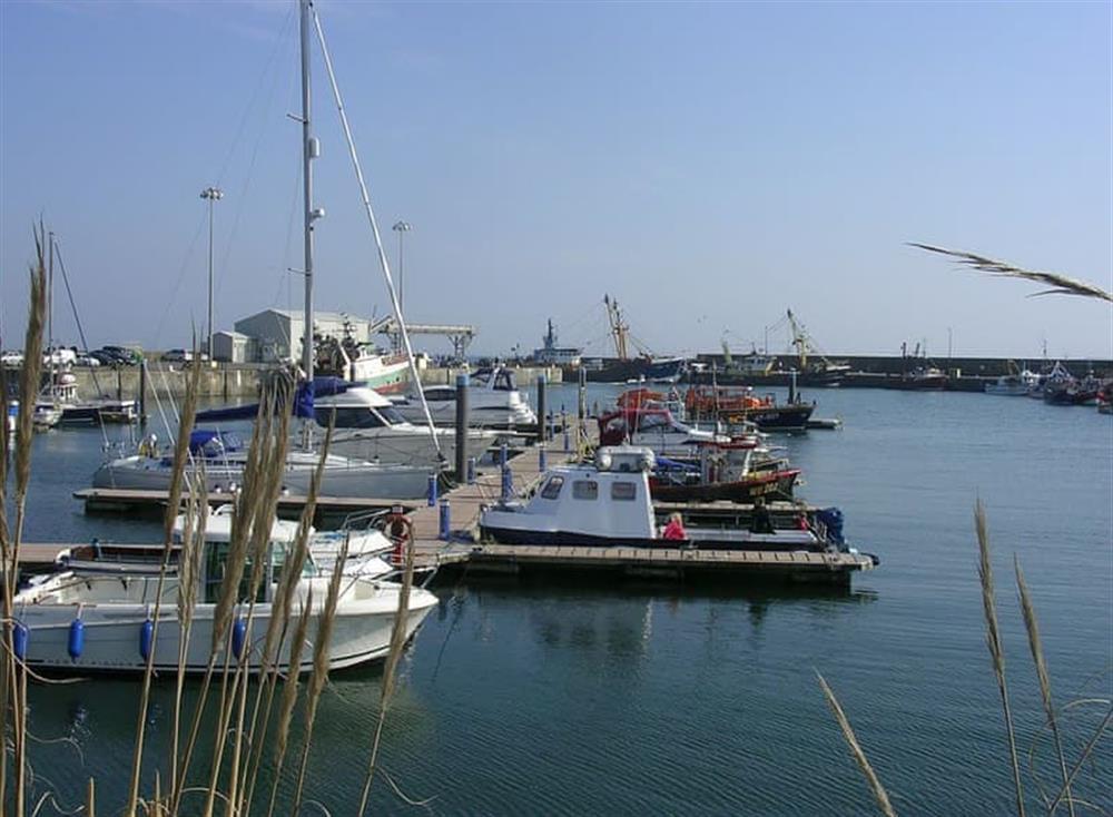 Kilmore Quay marina and harbour