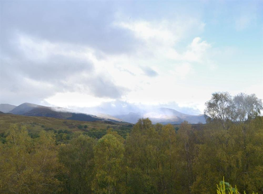 Views from Eagle Ledge Cottage at Kinchellie