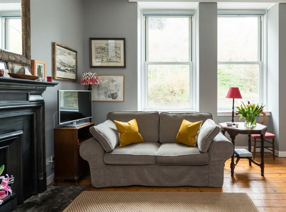 Living room at King Stables in Edinburgh, Midlothian
