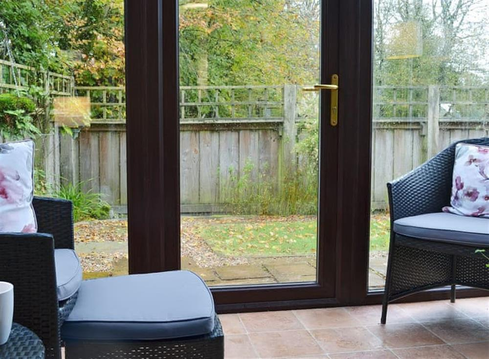 Relaxing conservatory