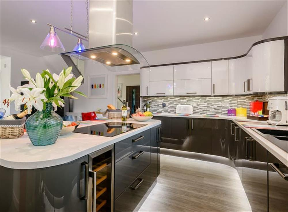 Contemporary styled kitchen (photo 2) at Kingfisher Lodge in Horning, Norfolk