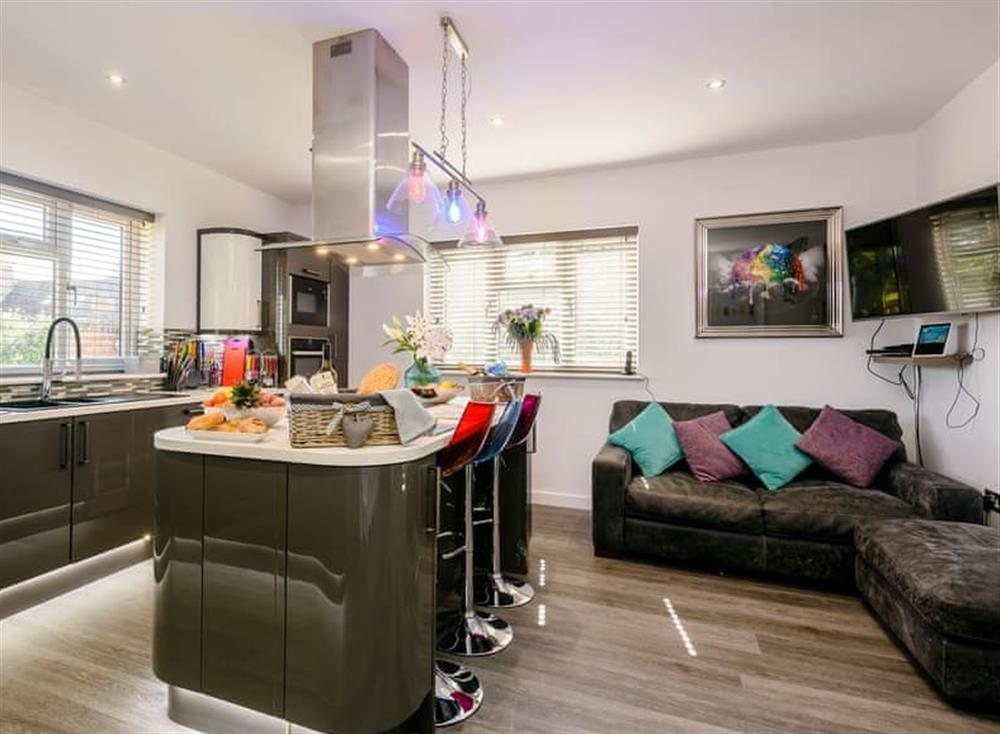 Contemporary styled kitchen (photo 3) at Kingfisher Lodge in Horning, Norfolk
