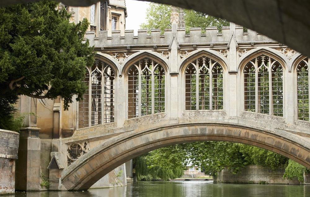 Nearby Cambridge is not to be missed