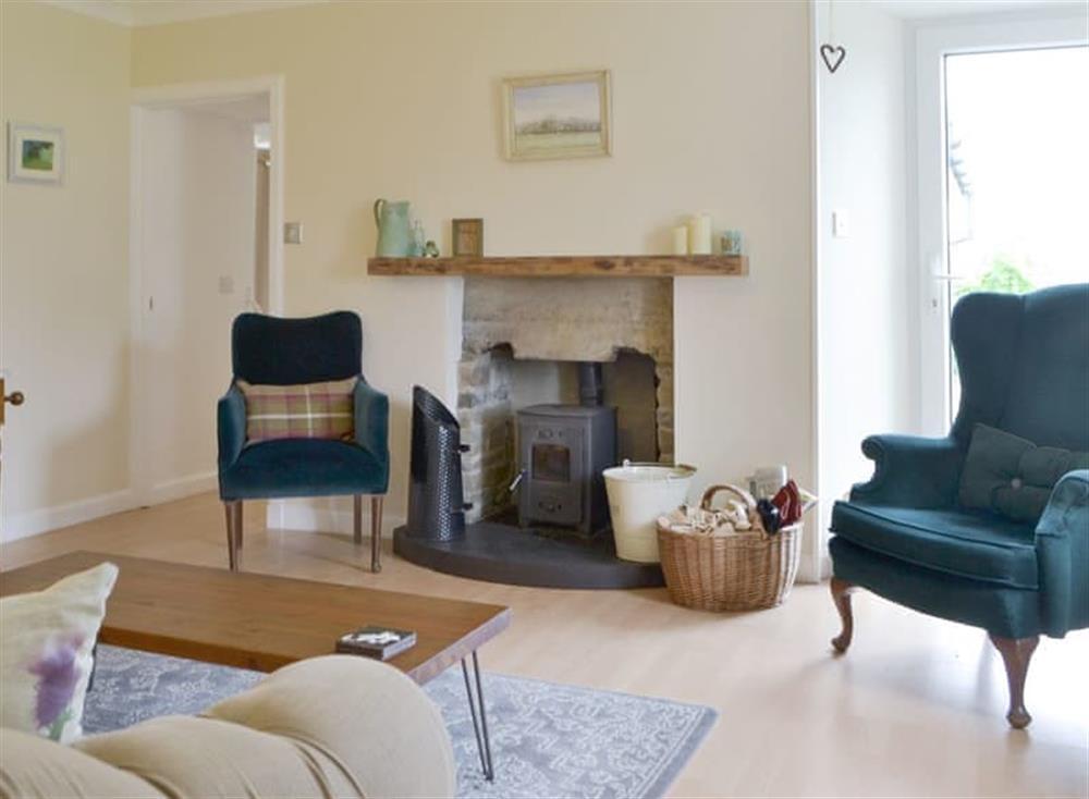 Welcoming living room at Harrays Hoose,