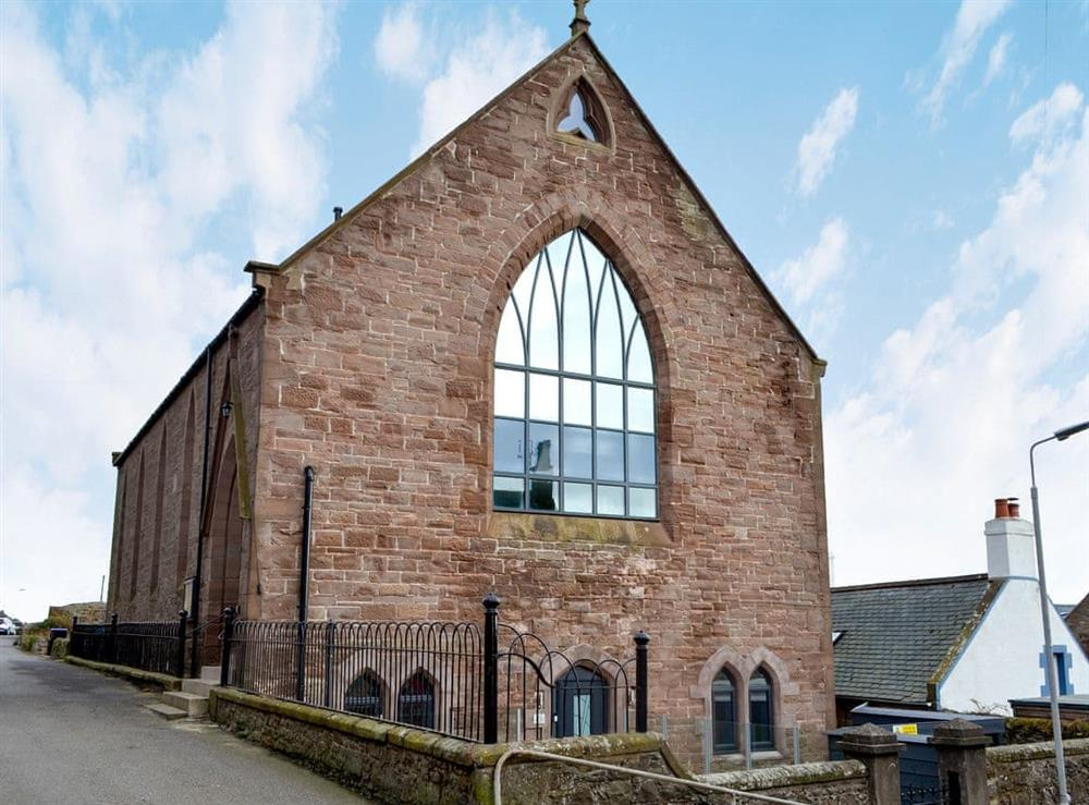 Stylish conversion of a former church house at Kirkview in Johnshaven, near Montrose, Aberdeenshire