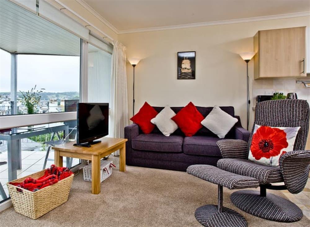 Living area at Kittiwakes in , Brixham