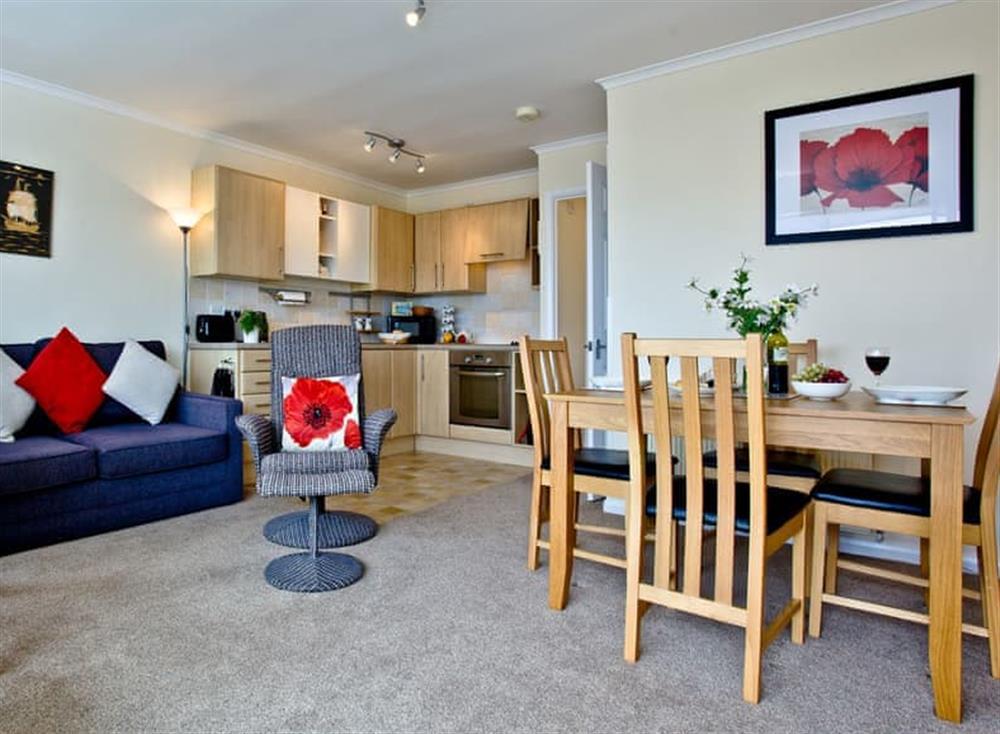 Open plan living space at Kittiwakes in , Brixham