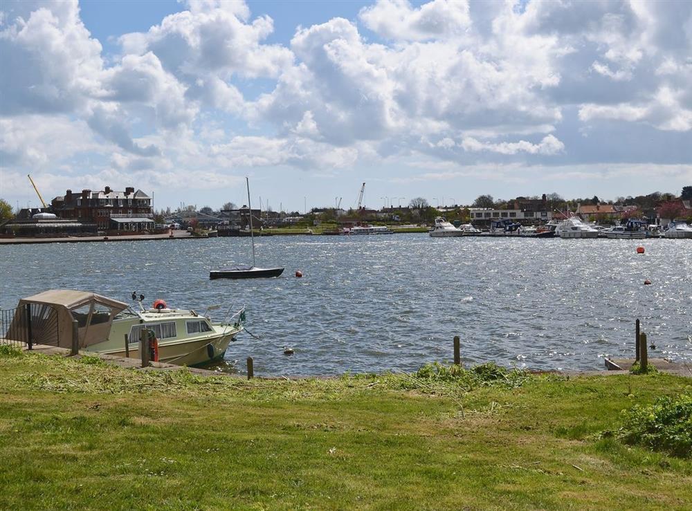 View at La Casa in Oulton Broad, near Lowestoft, Suffolk